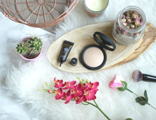 Inika baked mineral foundation & perfection concealer
