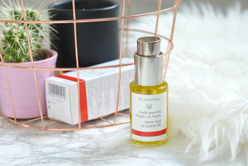 Dr. Hauschka neem nail & cuticle oil review