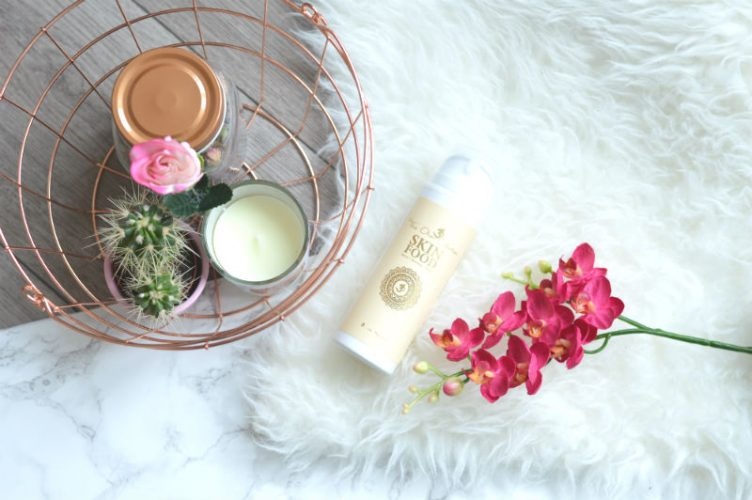 Review The Ohm Collection Skin Food body lotion