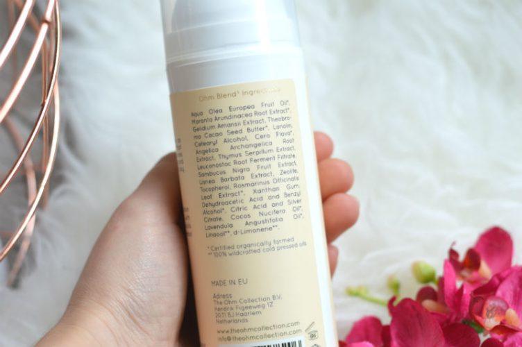 The Ohm Collection body lotion ingrediënten