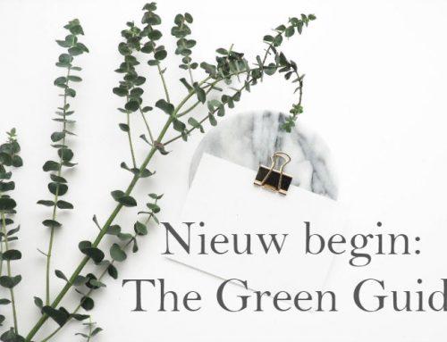 Gekopmakeup stopt maar… THE GREEN GUIDE gaat verder!