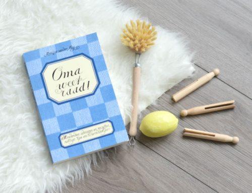 Oma weet raad boek review | Natuurlijk schoonmaken
