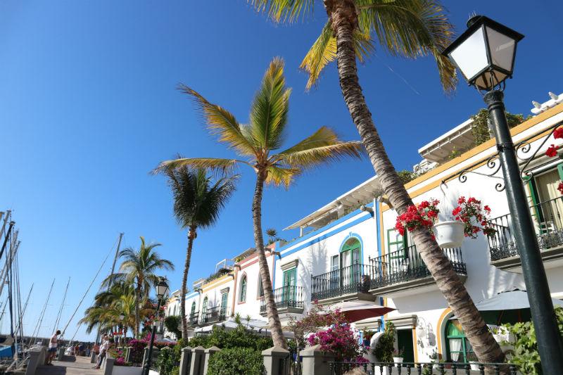 Puerto de Mogan haven Gran Canaria