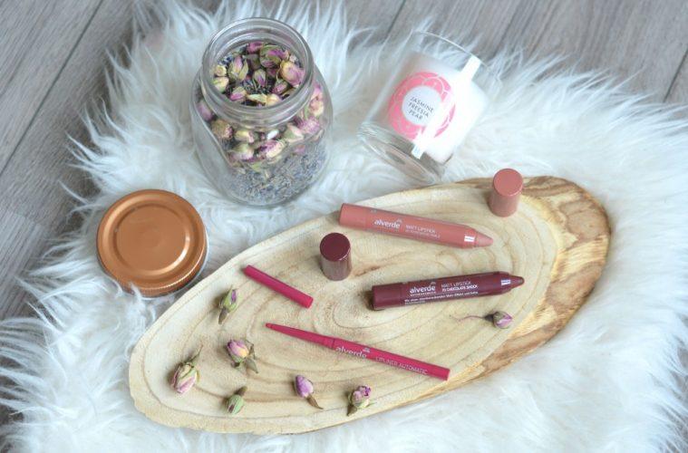 Alverde lipstick & lipliner review
