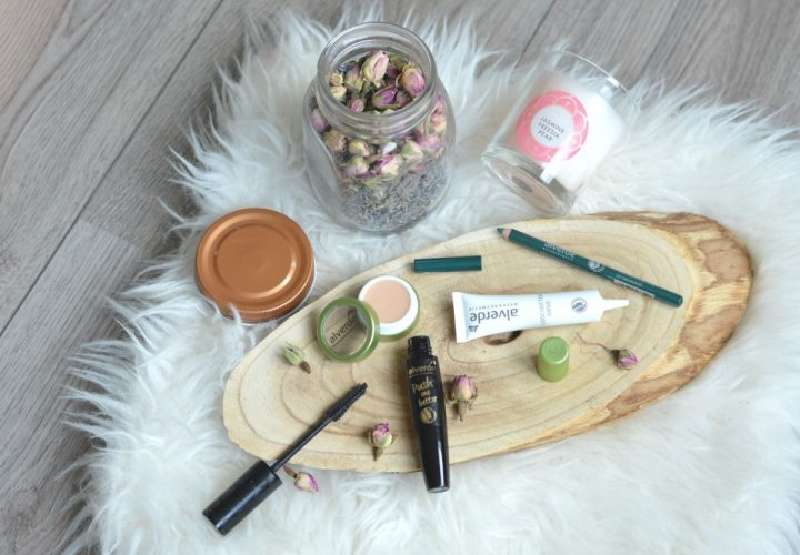 Alverde vegan make-up