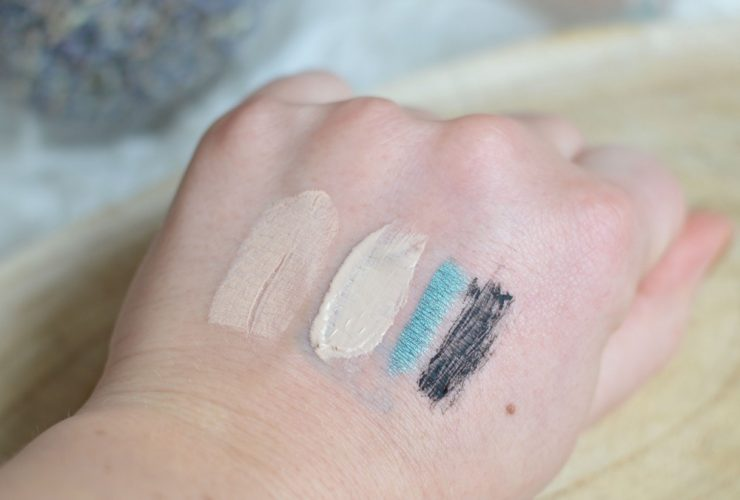 Review Alverde make-up swatches
