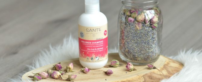 Review Sante shampoo