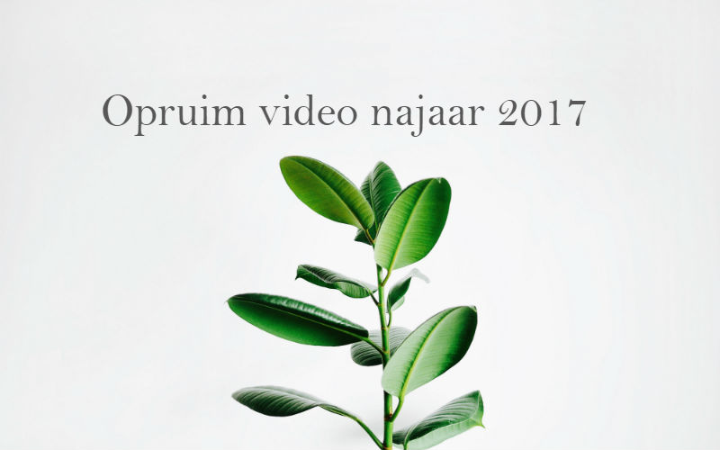 Opruim video najaar 2017