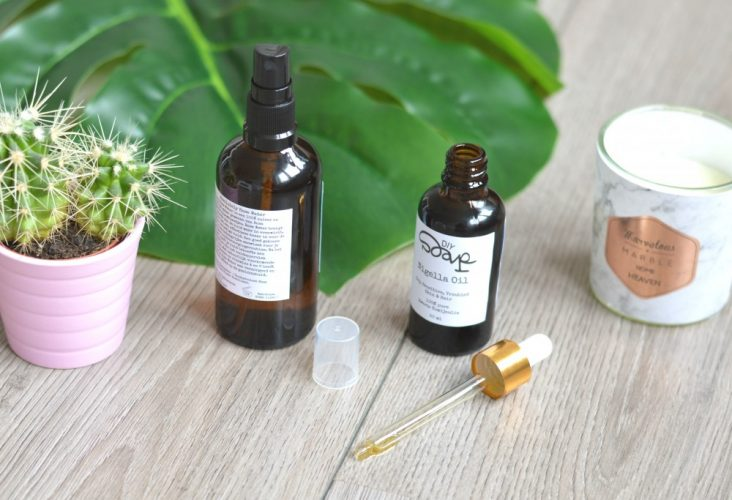 DIY Soap rose water