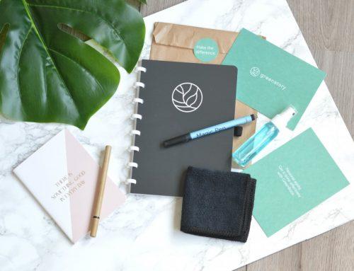 Mijn GreenBook voor bij een minimalistische & duurzame lifestyle