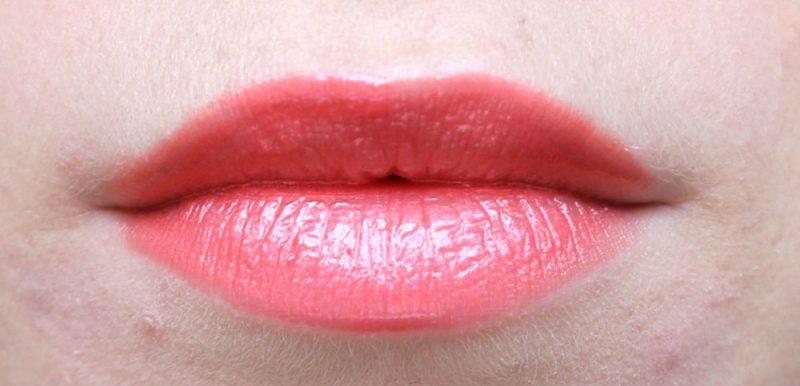 Inika lip glaze coral