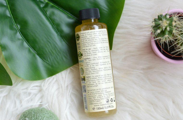 Iva Natura massage peeling ingrediënten