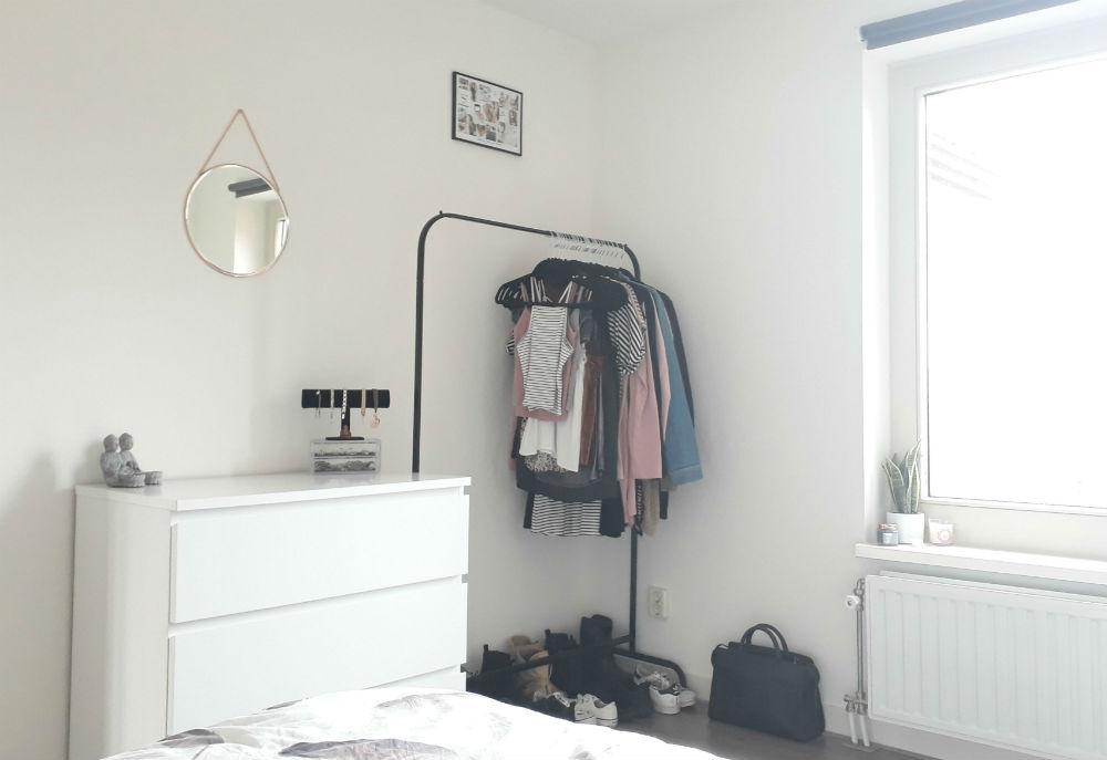 mijn capsule wardrobe een minimalistische kledingkast