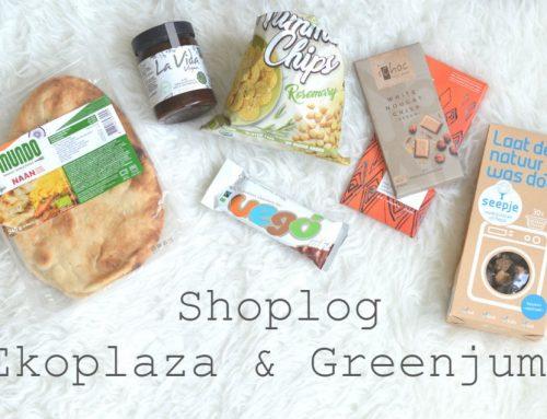 Ekoplaza shoplog + Greenjump | Vegan eten & natuurlijk wasmiddel