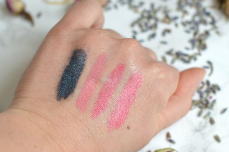 Emani make-up swatches