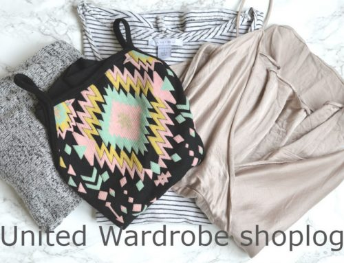 United Wardrobe shoplog + Wolf & Storm top + Maesue winactie!