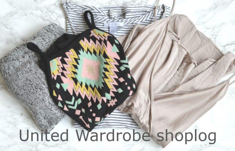 United Wardrobe shoplog