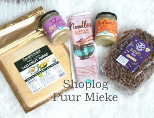 Glutenvrije Puur Mieke shoplog | Vegan zonder intoleranties