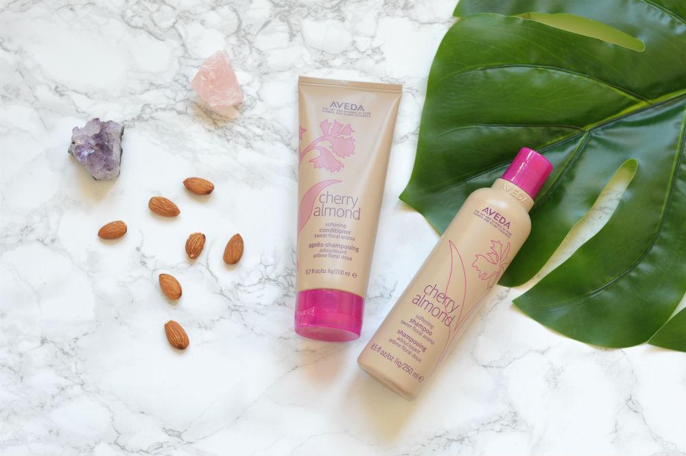 Aveda Cherry Almond shampoo & conditioner