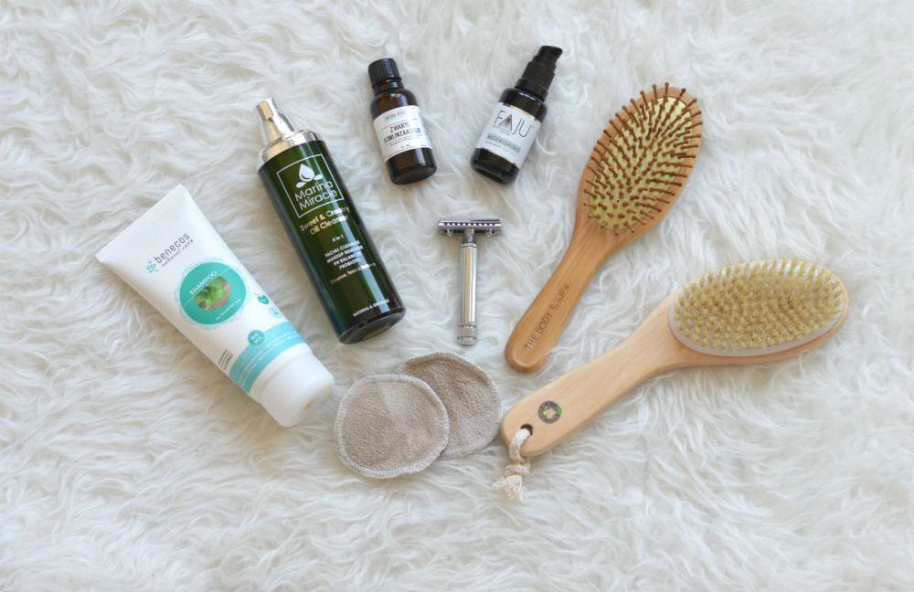 Natuurlijke verzorging routine