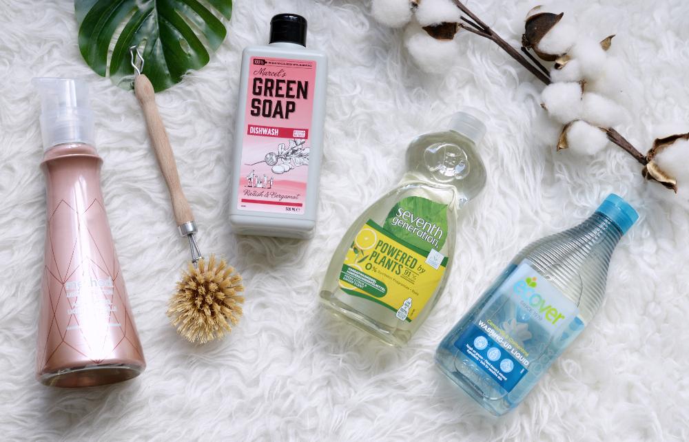 Minimalistisch schoonmaakproducten