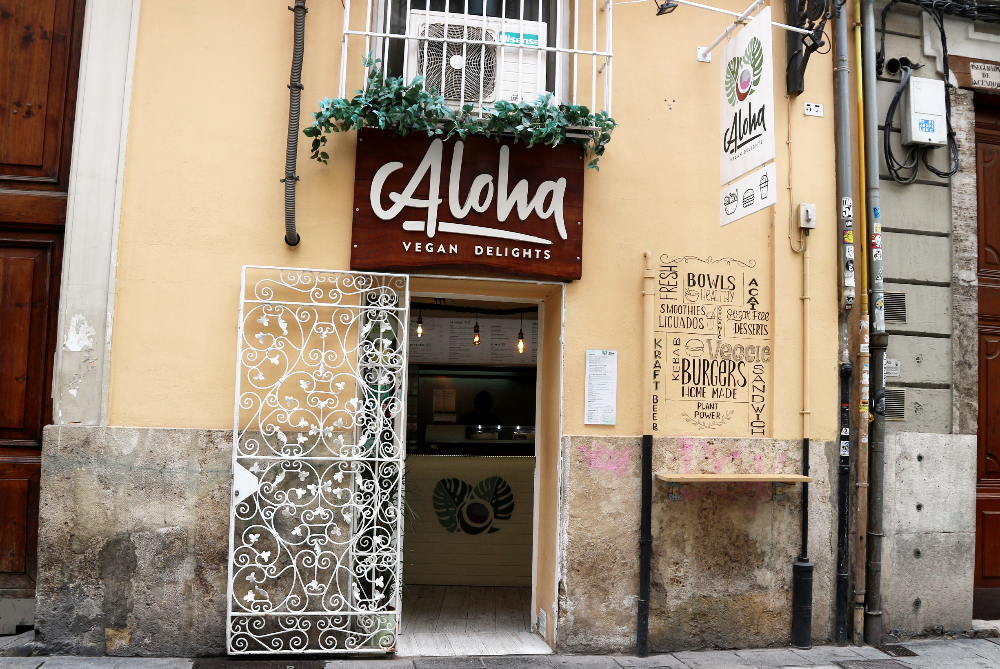 Aloha Vegan Delights Valencia review