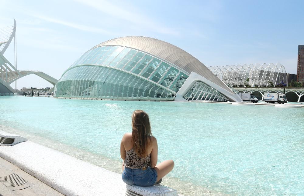 Ciutat de les Arts i les Ciènces Valencia