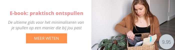 Minimalisme e-book Nederlands