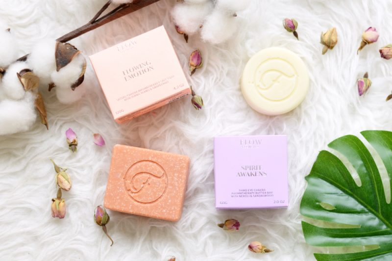 Flow Cosmetics aromatherapie zeep & body butter bar