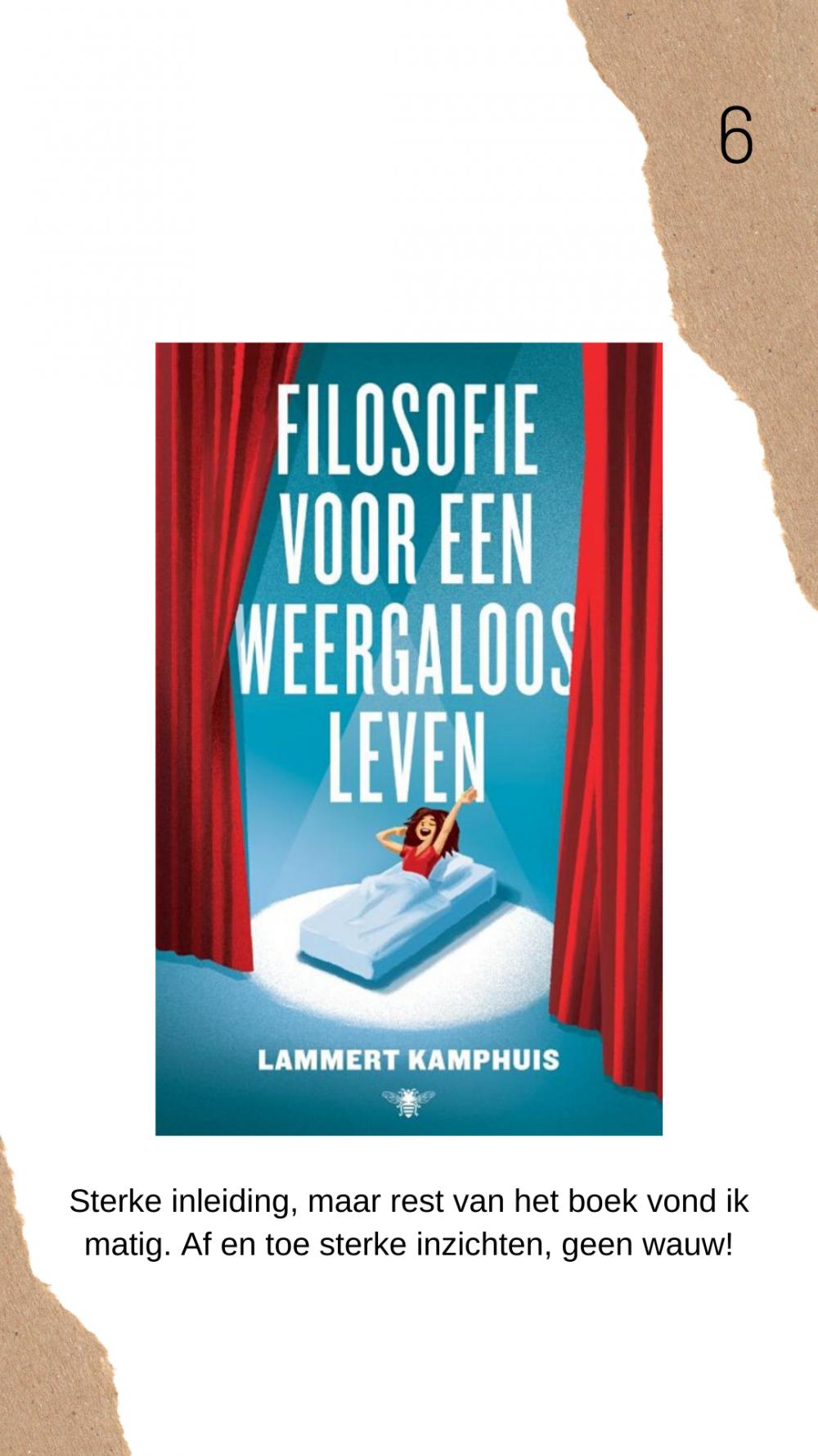 Filosofie weergaloos leven boek review