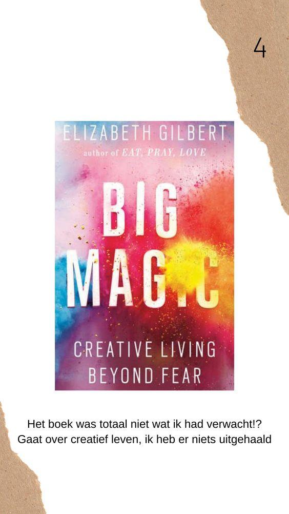 Big magic boek review