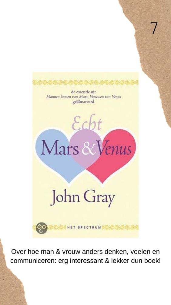 Echt mars & venus boek review