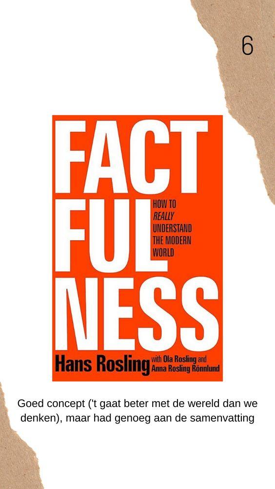 Factfulness boek review