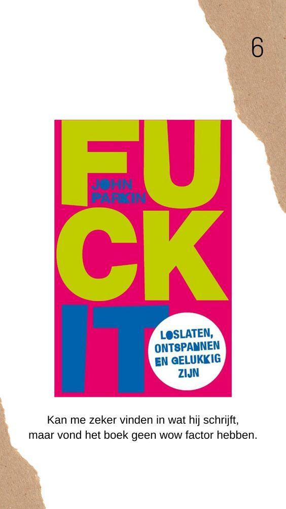 Fuck it - Parkin boek review
