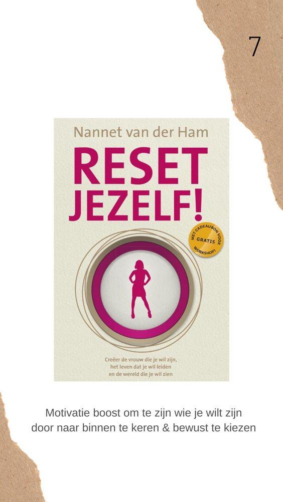 Reset jezelf boek review