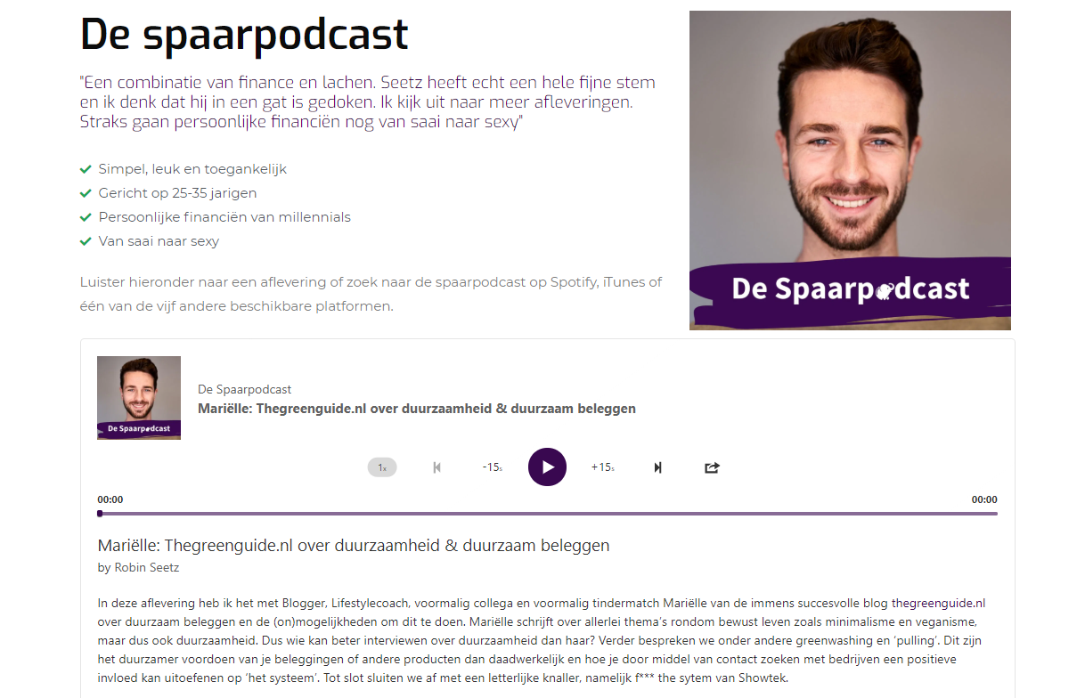 Spaarpodcast