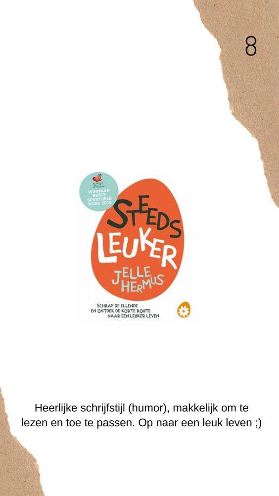 Steeds leuker boek review