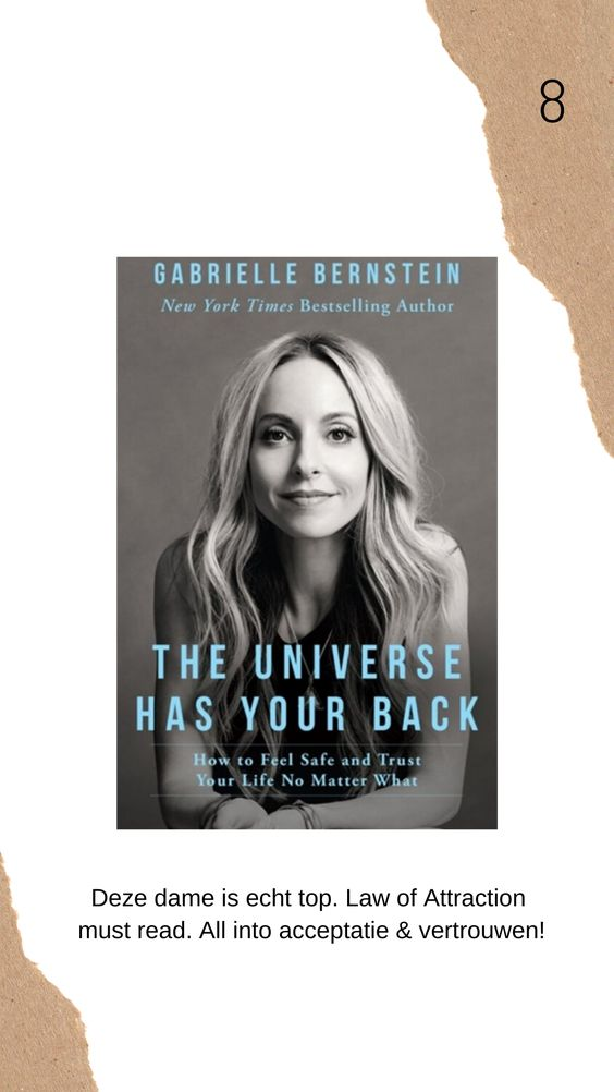 The universe has your back boek review