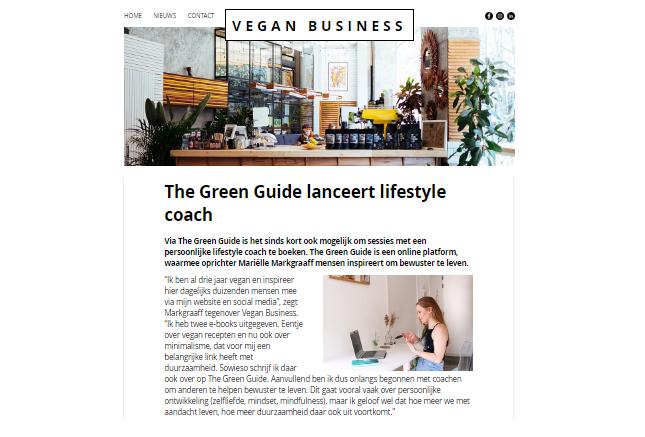 Vegan business Nederland