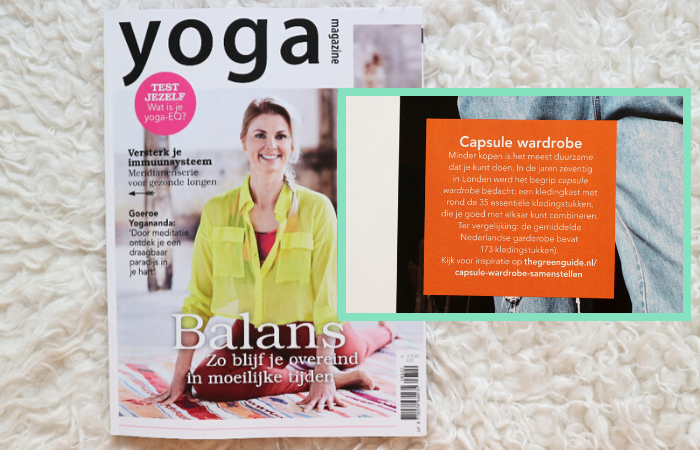 Yoga magazine The Green Guide