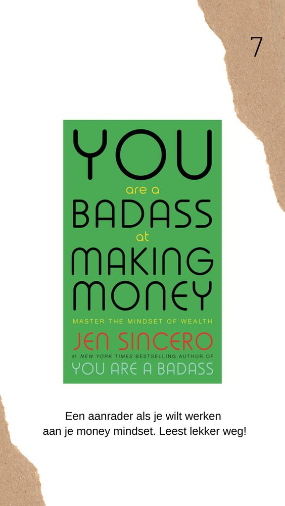 You are a badass at making money boek review
