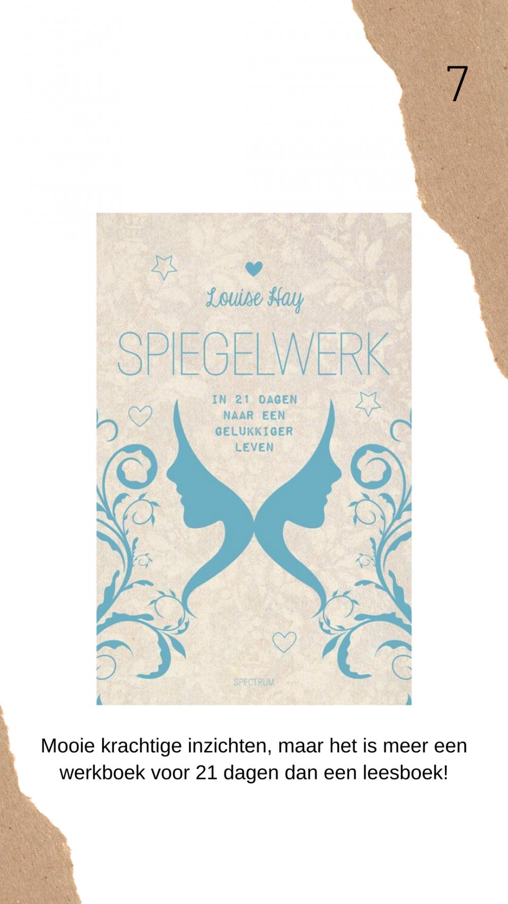 Spiegelwerk Louise Hay boek review