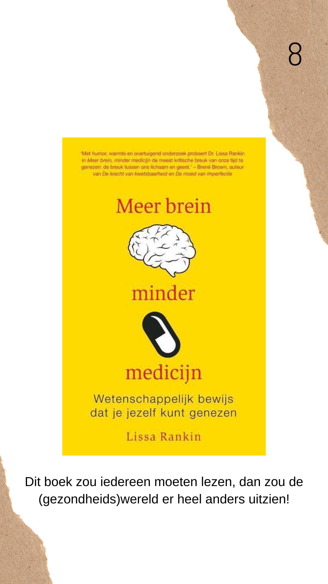 Meer brein minder medicijn recensie