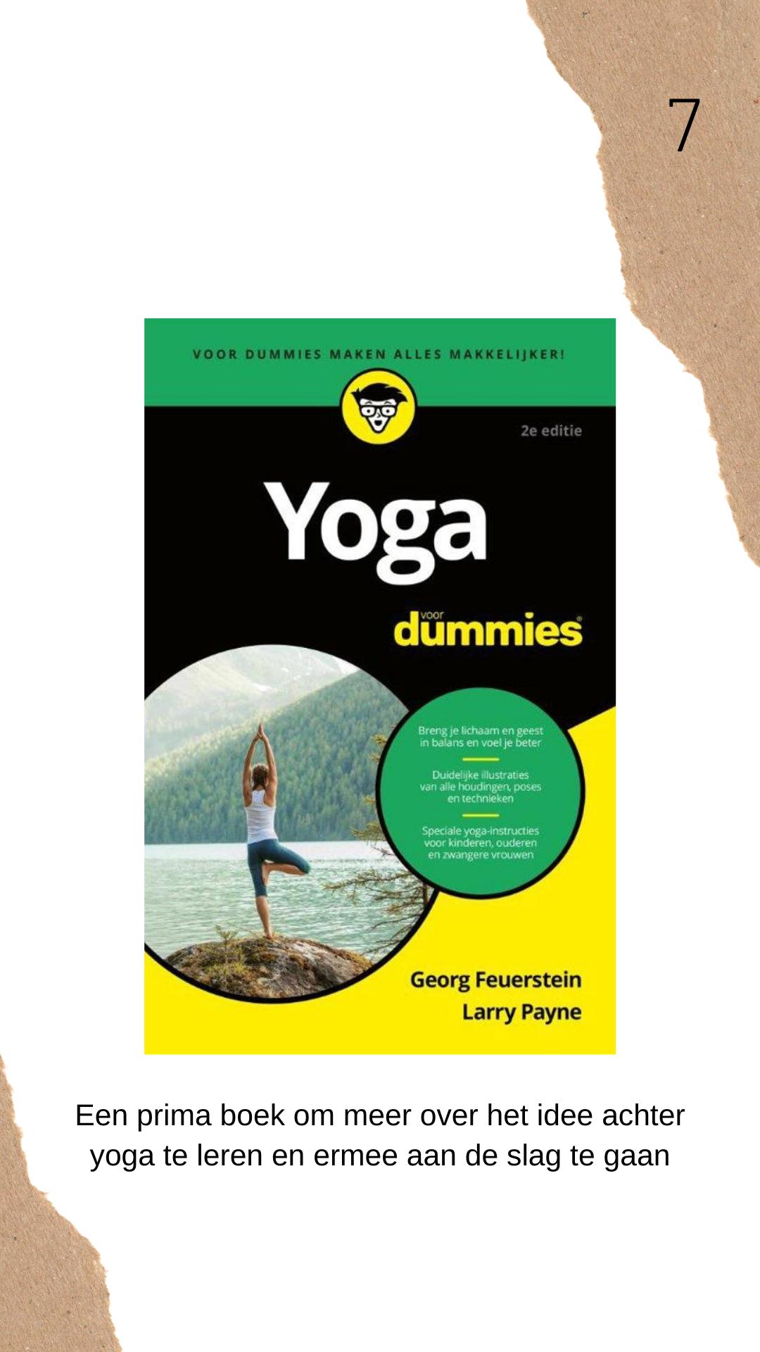 Yoga voor dummies boek review
