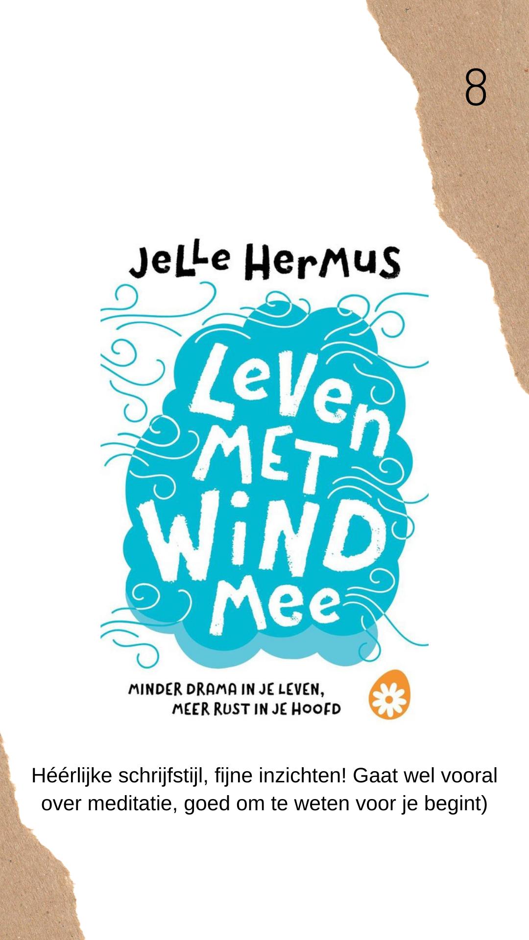 Leven met de wind mee boek review